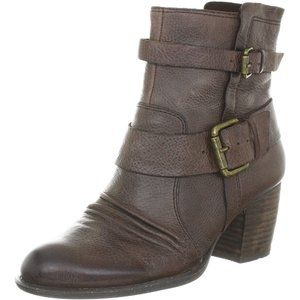 NAYA size 9 Virtue Brown Braun Leather Ankle Boots